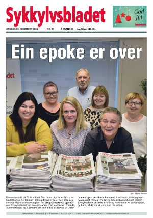 Forside Sykkylvsbladet