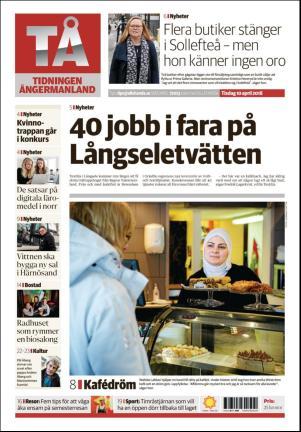 tidningen ångermanland