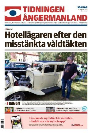 Förstasida Tidningen Ångermanland