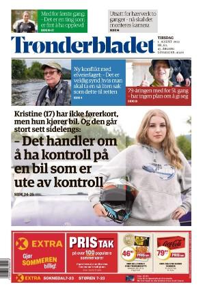 Forside Trønderbladet