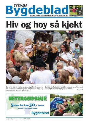 Forside Tysvær Bygdeblad