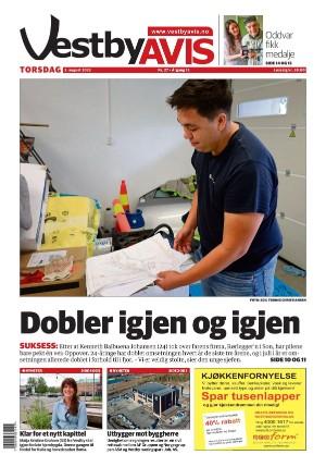 Forside Vestby Avis
